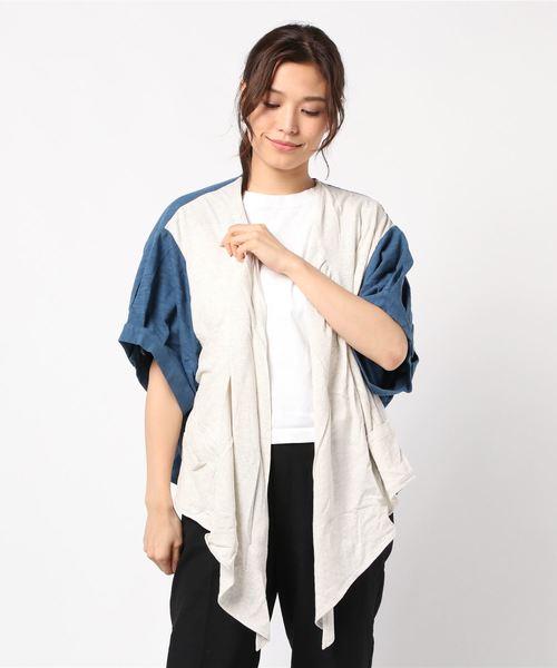 【最安値に挑戦】 【セール】JUN OKAMOTO OKAMOTO 夏になる前の彼女のブラウス(カーディガン)|JUN OKAMOTO(ジュンオカモト)のファッション通販, レザークラフト優 プラス:2c617ea6 --- fahrservice-fischer.de