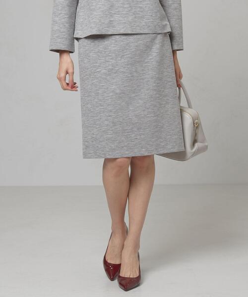 <closet story>□フシオリ タックタイトスカート -手洗い可能-