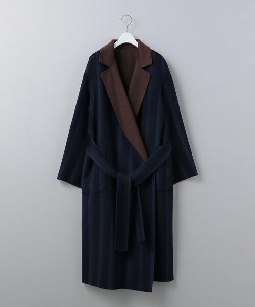 <6(ROKU)>REVER TAILOR COAT/コート о