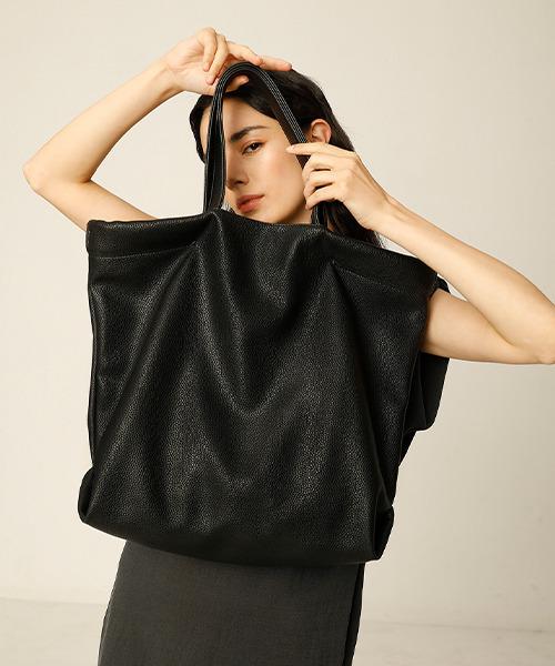 【chuclla】PU leather tote bag cha204