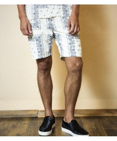 大勧め BANDANA EMBROIDERY EMBROIDERY SHORTS(パンツ)|TMT(ティーエムティー)のファッション通販, ハニュウシ:3b85eeff --- pyme.pe