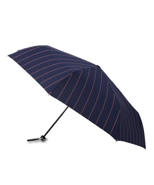 耐風ストライプ 折りたたみ傘