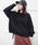 PICCIN(ピッチン)の「編地MIXニット(ニット/セーター)」|ブラック