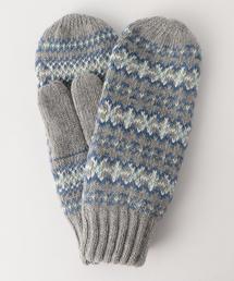ジャカードミトン(手袋/グローブ)