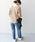 Khaju(カージュ)の「Khaju:バックスリットサーマルカットソー◇(Tシャツ/カットソー)」|詳細画像