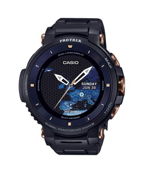 【日本未発売】 【生産数量限定/】PRO TREK Smart(プロトレック スマート) スマート) PRO/ WSD-F30SC-BK(腕時計)|PRO TREK(プロトレック)のファッション通販, 家具のわくわくランド:5c6edbe5 --- fahrservice-fischer.de