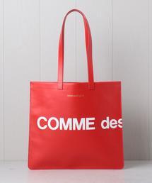 <Wallet COMME des GARCONS>LOGO TOTE/バッグ.