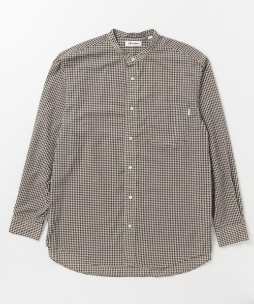 GYMPHLEX/ジムフレックス バンドカラーシャツ BAND COLLAR SHIRT(メンズ) #J-1352ECP