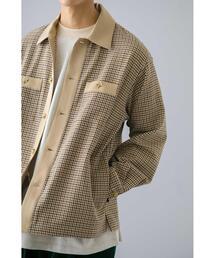 <monkey time> CLASSIC CHECK SHIRT JAKET/シャツジャケット