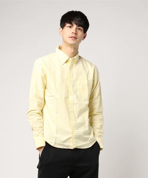 日本製オックスフォードボタンダウンシャツ