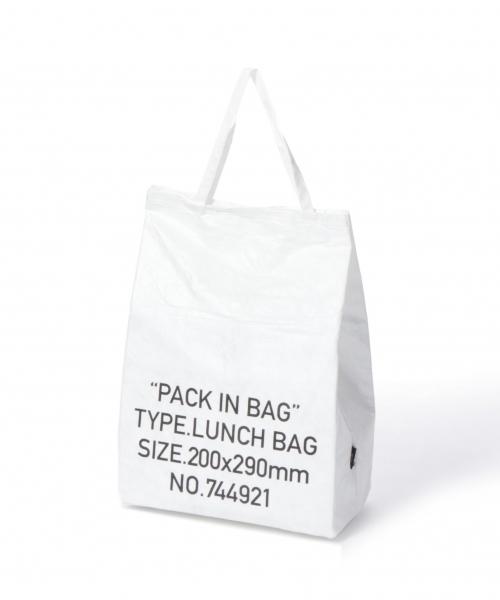 LAKOLE(ラコレ)の「[PACK IN BAG]保冷ランチバッグ / LAKOLE(キッチンツール)」 ホワイト