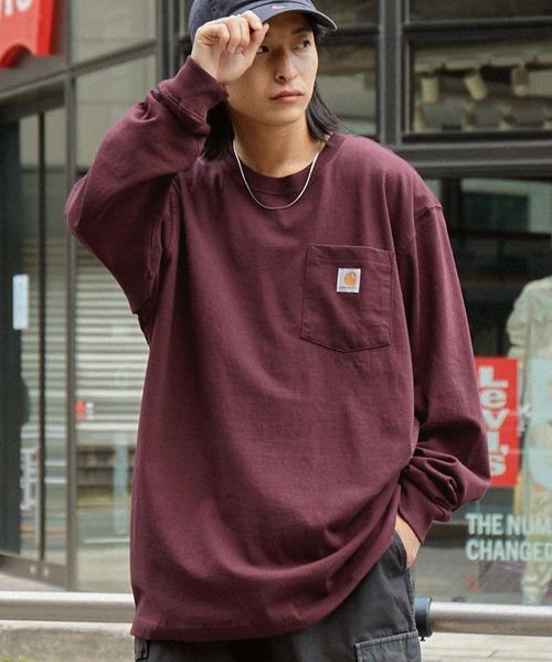 carhartt(カーハート) Workwear Pocket Long-Sleeve T-Shirts ポケットロングTシャツ トップス