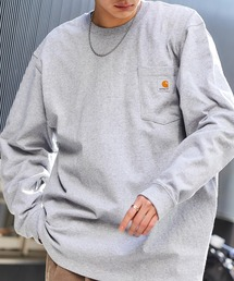 Carhartt(カーハート)のcarhartt(カーハート) Workwear Pocket Long-Sleeve T-Shirts ポケットロングTシャツ(Tシャツ/カットソー)