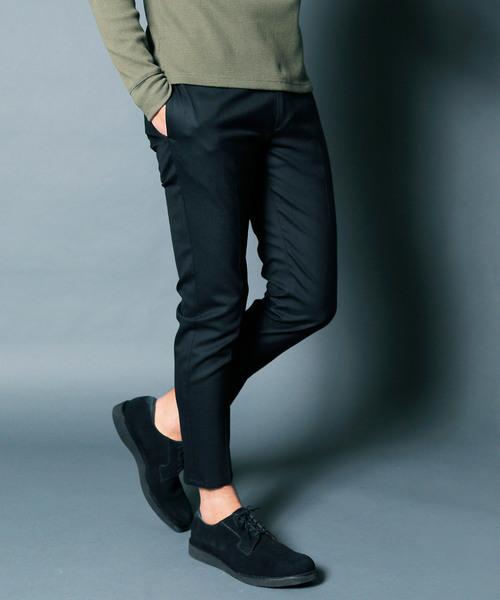 【超歓迎された】 【セール トロピカル】WOOL TROPICAL STRETCH STRETCH TAPERED CROPPED PANTS:ウール ストレッチ トロピカル ストレッチ テーパードクロップドパンツ(スラックス)|Magine(マージン)のファッション通販, メンズアパレル通販:81e5bb3e --- 5613dcaibao.eu.org