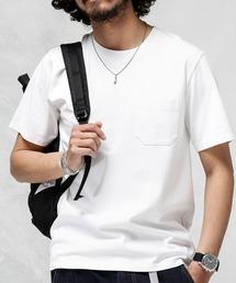 nano・universe(ナノユニバース)のAnti Soaked ヘビークルーネックTシャツ(Tシャツ/カットソー)
