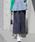 URBAN RESEARCH Sonny Label(アーバンリサーチサニーレーベル)の「麻混クロップドバギーパンツ(パンツ)」|ネイビー