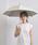 UNITED ARROWS(ユナイテッドアローズ)の「UBSC MUJI SHORT 晴雨兼用傘(長傘)」 ベージュ
