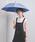 UNITED ARROWS(ユナイテッドアローズ)の「UBSC MUJI SHORT 晴雨兼用傘(長傘)」 ネイビー
