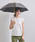 UNITED ARROWS(ユナイテッドアローズ)の「UBSC MUJI SHORT 晴雨兼用傘(長傘)」 ダークグレー