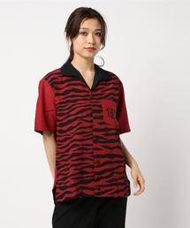 HYSTERIC BOWLER 半袖ビッグボーリングシャツレッド