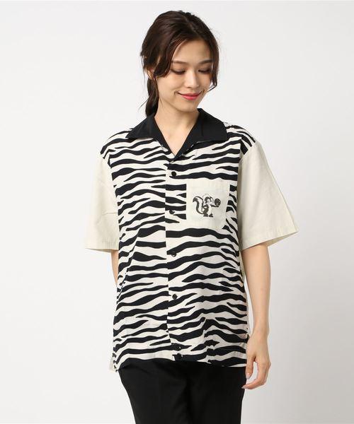 HYSTERIC BOWLER 半袖ビッグボーリングシャツ