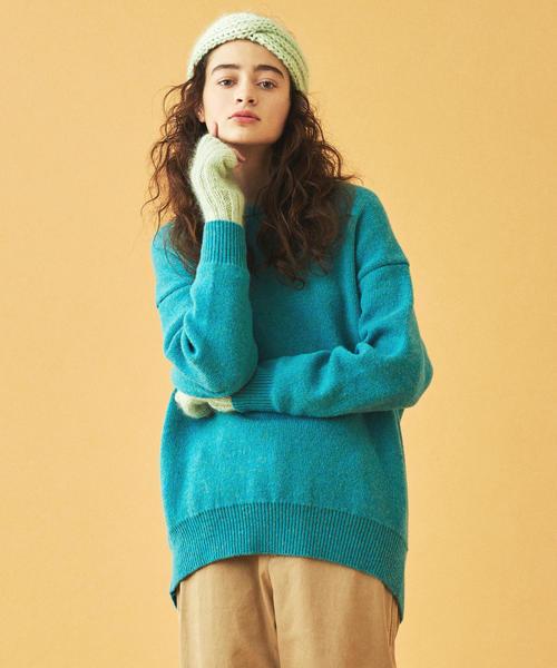 激安特価 ウール クルーネックプルオーバー(ニット/セーター)|MACPHEE(マカフィー)のファッション通販, ブルージュエリー アクセサリー:c1ce6c06 --- affiliatehacking.eu.org