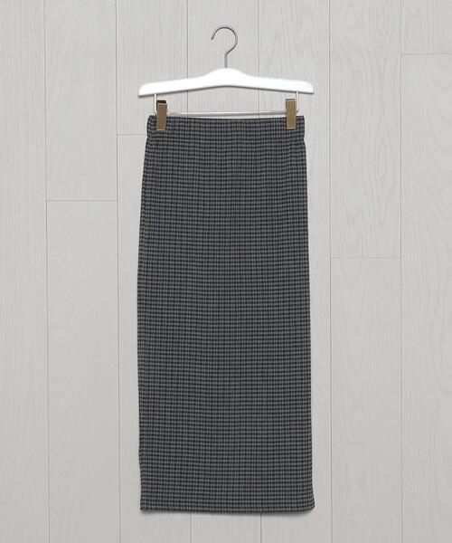<H>BACK SLIT TIGHT SKIRT/スカート