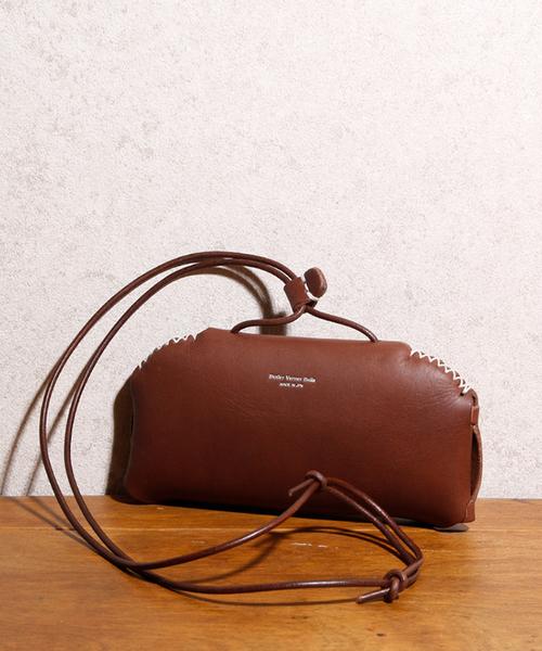 Butler Verner Sails バトラーバーナーセイルズ / Handcraft glass or pen leather shoulder ハンドクラフト グラスorペン レザーショルダー / JK-1934