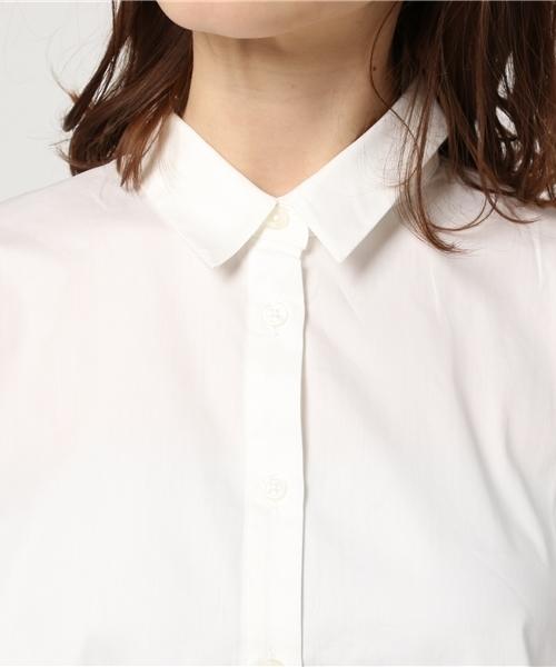 バックストライプシャツ