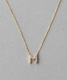 ete(エテ)のK18YGイニシャル ダイヤモンド ネックレス(ネックレス)