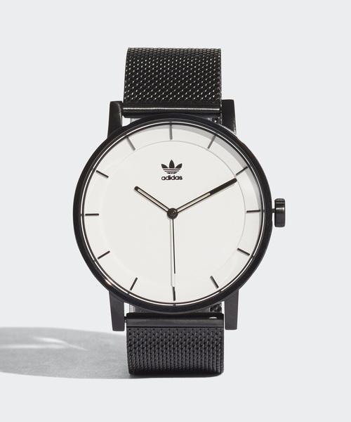 adidas(アディダス)の「腕時計 [DISTRICT_M1] アディダスオリジナルス(腕時計)」|ブラック×ホワイト