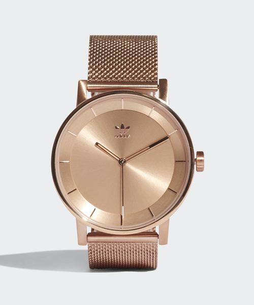 adidas(アディダス)の「腕時計 [DISTRICT_M1] アディダスオリジナルス(腕時計)」|ピンクゴールド