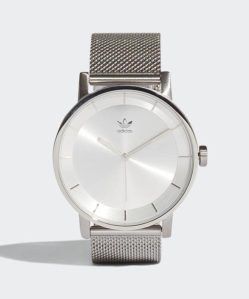 adidas(アディダス)の「腕時計 [DISTRICT_M1] アディダスオリジナルス(腕時計)」|シルバー