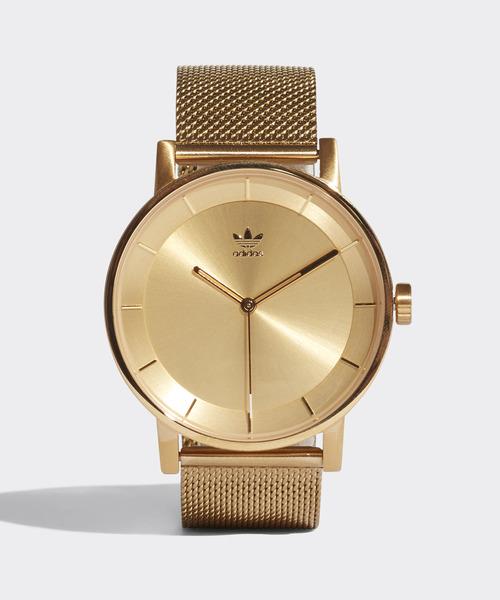 adidas(アディダス)の「腕時計 [DISTRICT_M1] アディダスオリジナルス(腕時計)」|ゴールド