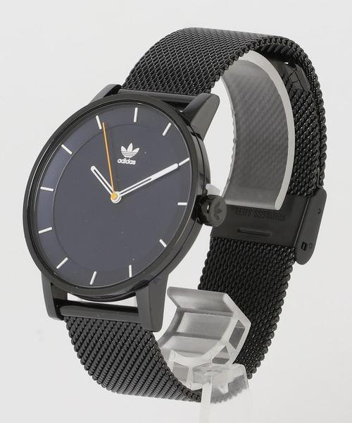 adidas(アディダス)の「腕時計 [DISTRICT_M1] アディダスオリジナルス(腕時計)」|ブラック×ブルー