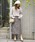 ROSE BUD(ローズバッド)の「(ROSE BUD)ミモレ丈トラペーズスカート(スカート)」 詳細画像