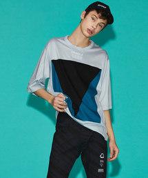 "SHAREEF(シャリーフ)のLy/C S/S BIG-T ""TRIANGLE""(Tシャツ/カットソー)"