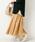 URBAN RESEARCH Sonny Label(アーバンリサーチサニーレーベル)の「マドラスチェックスカート(スカート)」|イエロー