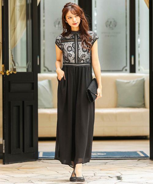 日本最大の 総レースワイドパンツドレス/結婚式・お呼ばれワンピース・パーティードレス(ドレス)|Fashion Letter(ファッションレター)のファッション通販, ハマサカチョウ:1b85b1f6 --- 5613dcaibao.eu.org