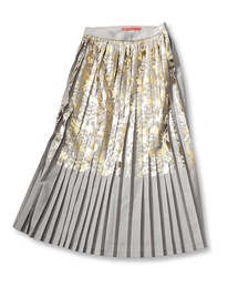 mintdesigns(ミントデザインズ)の「FOILED PLEATED SKIRT/ホイルプリーツスカート(スカート)」