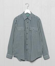 <Brown by 2-tacs>REGULAR COLLAR SHIRT/シャツ.