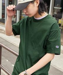 Champion Authentic T-SHIRTS/ チャンピオン コットン Tシャツ(1/2スリーブ) 無地T トップス