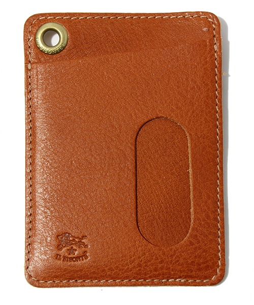 IL BISONTE(イルビゾンテ)の「IL BISONTE / ORIGINAL LEATHER / CARD CASE(パスケース)」|ライトブラウン