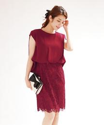 1e23786d63bf0 BLUEEAST PARTY(ブルーイースト パーティー)の「WEB限定 異素材Mixレーススカート