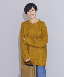 furryrate(ファーリーレート)の手編みカギ針ニットプルオーバー(ニット/セーター)