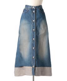 Drawer CALFポケットデニムスカート