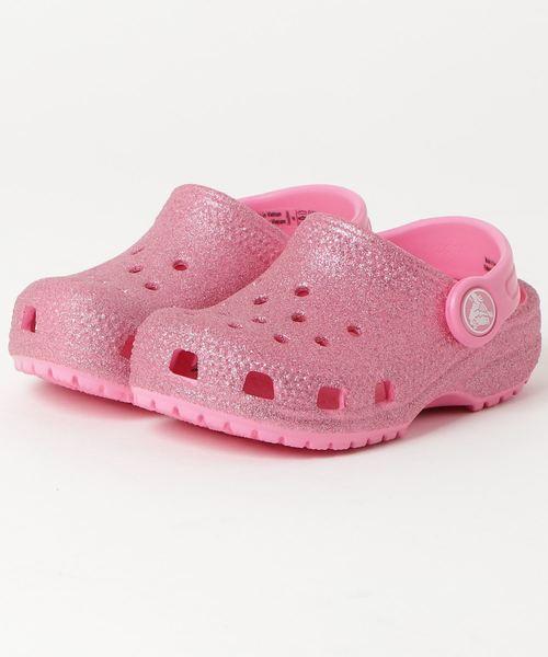 crocs クロックス 14-20 Classic Glitter Clog
