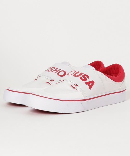 DC SHOES TRASE TX SP (WHITE/GREY/RED)