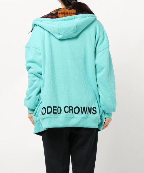 RODEO CROWNS WIDE BOWL(ロデオクラウンズワイドボウル)の「リバーシブルフリースパーカー(パーカー)」|詳細画像