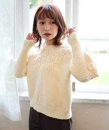 daisy knitアイボリー